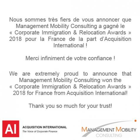 Corporate Immigration & Relocation Awards